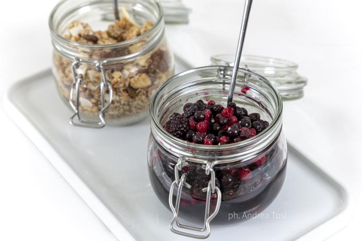 confettura frutti bosco buffet