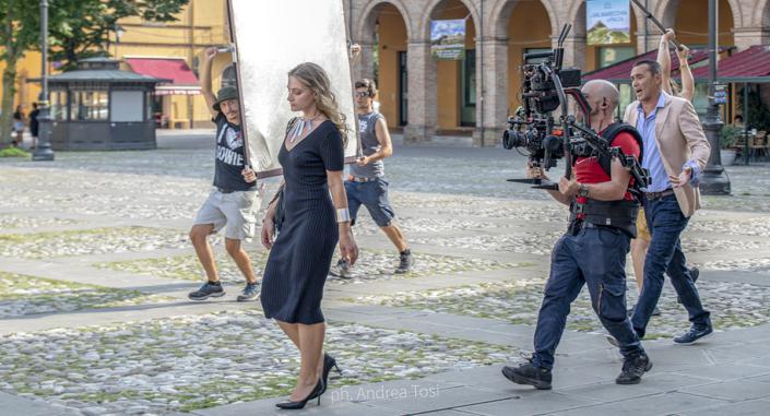 Backstage Tutto Liscio fotografo scena Andrea Tosi