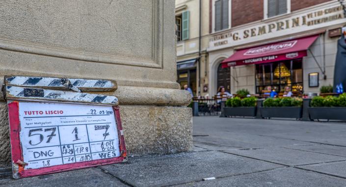 Ciack sul set Tutto Liscio Film