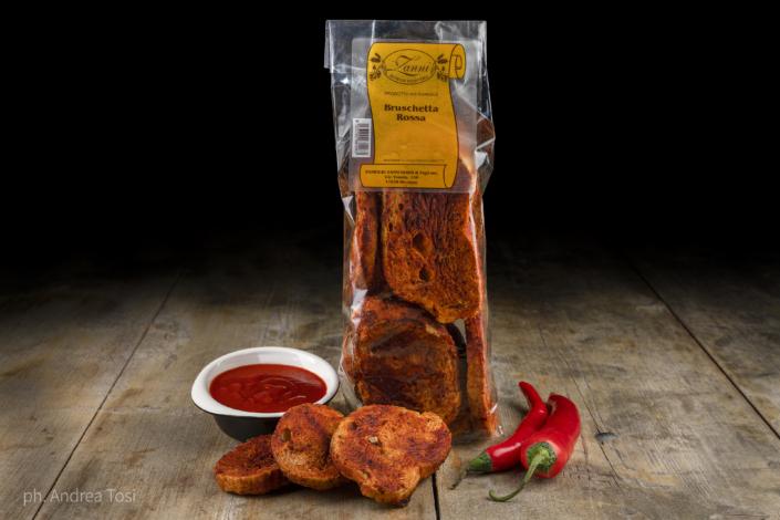 toscano bruschette rosse piccanti