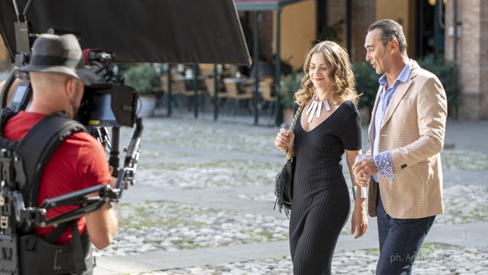 Actors, Italy, Moovie, Film, Comedy, Giacobazzi, Chieli, set, action, ciack